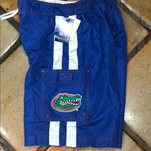 NWT Gator swim trunks shorts sz small Carl banks
